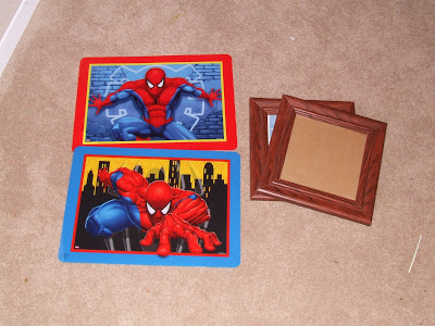 Whatever Wednesday: Spiderman Frames • Keeping it Simple