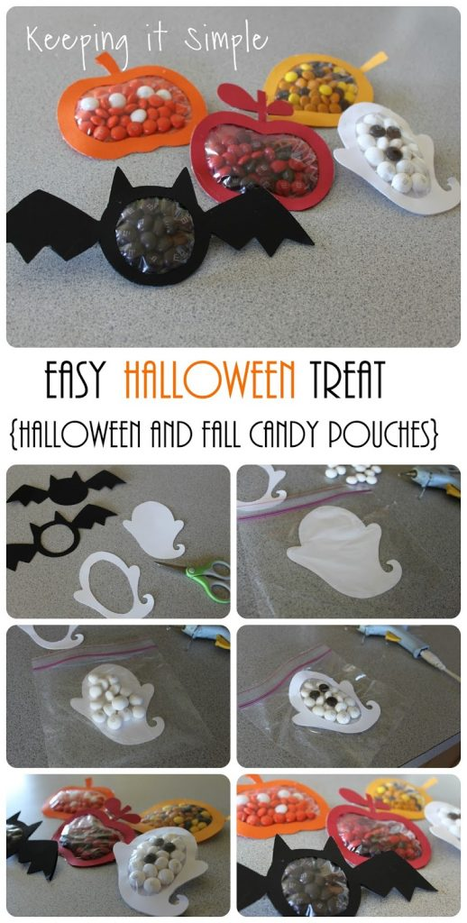 Our easy Halloween crafts are a surefire way to scare up some fun with your kids -- from make-your-own Halloween party crafts to free Halloween candy favors to fun Halloween games, we have dozens of crafts that will please Halloween tricksters of all ages. Our fast and frightful Halloween craft ideas include creepy paper lanterns, fun silhouettes, and Halloween-theme centerpieces.