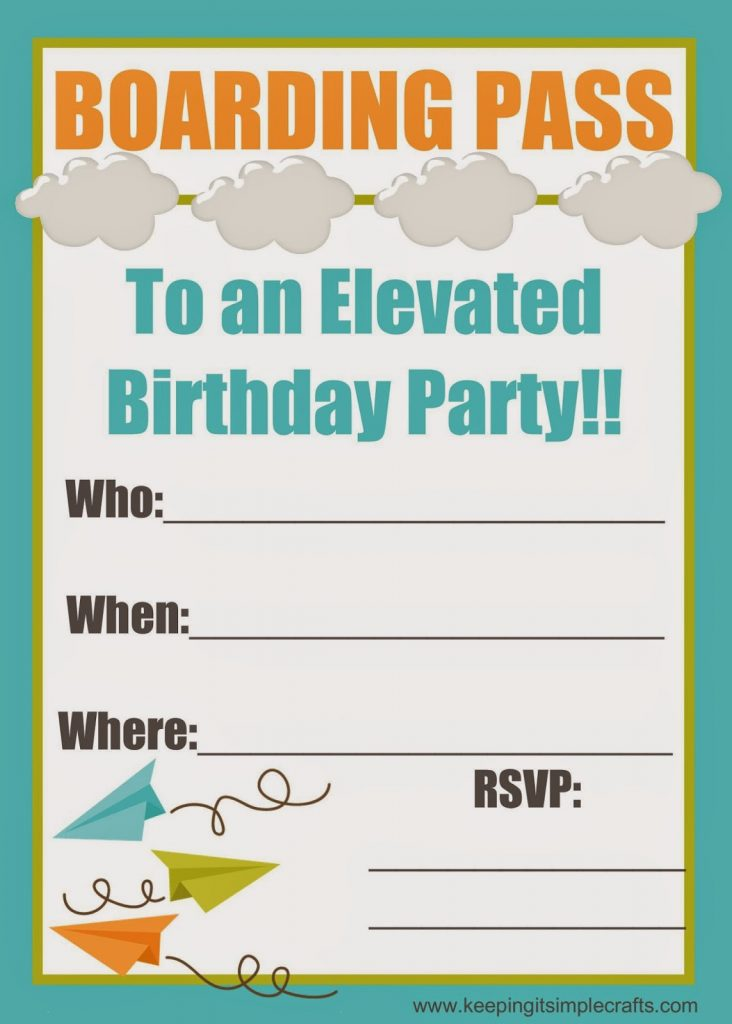 Here Is The Birthday Invitation That I Created For His Party You Can Get Free Printable