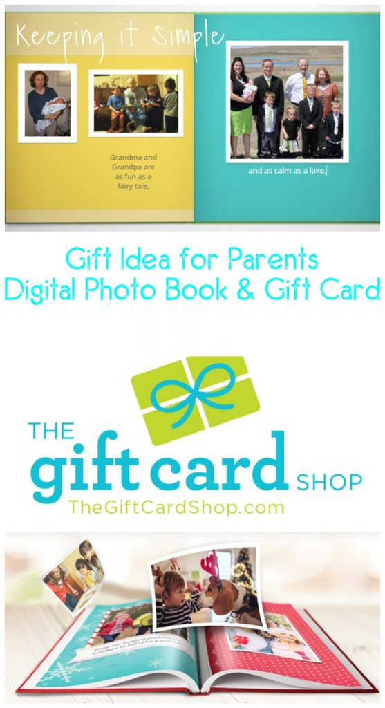 Great Gift Idea for Parents- Gift Card