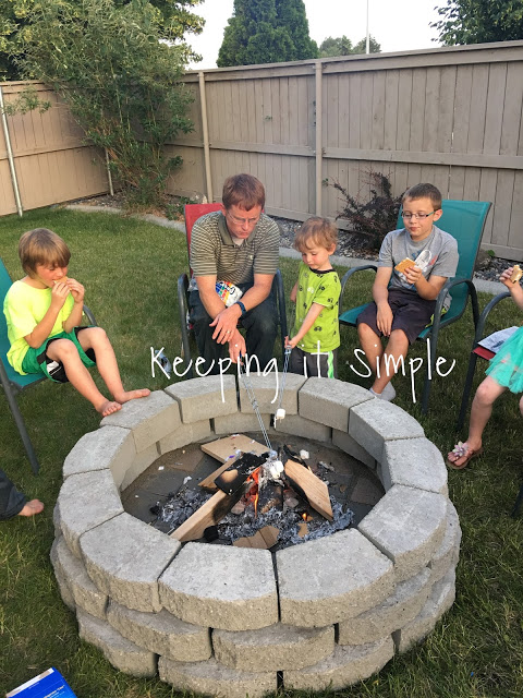 How to build a diy fire pit for only 60 keeping it simple for Outdoor fire pit construction