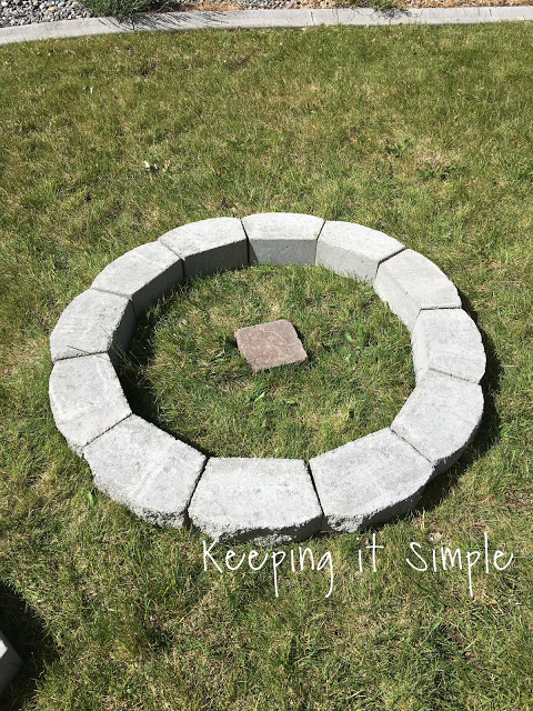 how to build a diy pit for only keeping it simple crafts cool garden ideas how to build a diy pit for only 60 keeping it simple