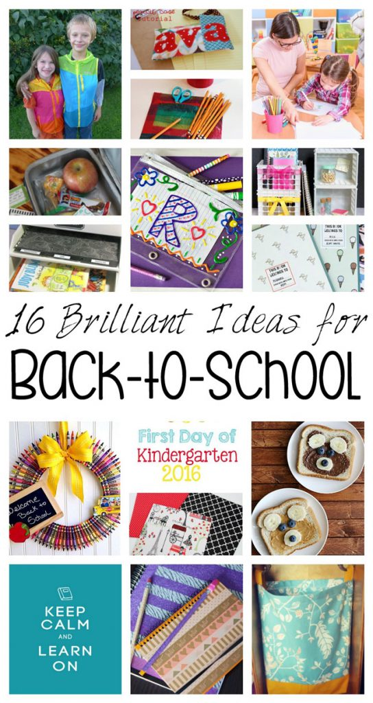 16 Brilliant Back To School Ideas {MMM #344 Block Party} • Keeping ...