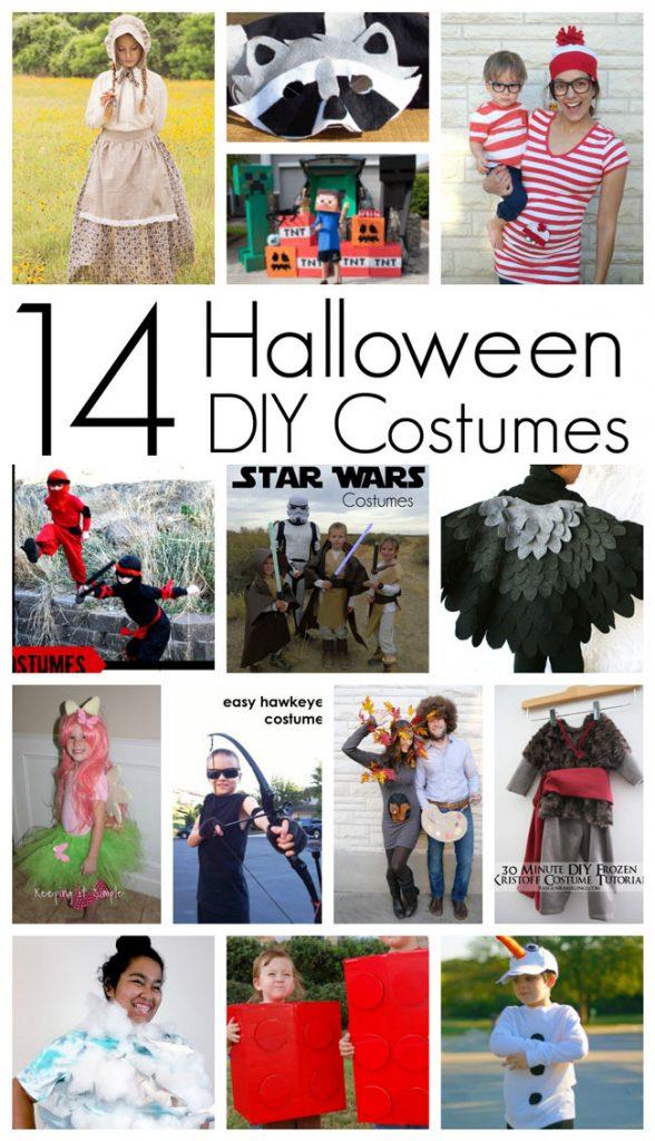14 Halloween DIY Costumes MMM #352 Block Party  sc 1 st  Keeping it Simple Crafts & 14 Halloween DIY Costumes MMM #352 Block Party u2022 Keeping it Simple