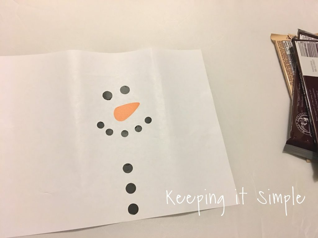 graphic about Snowman Candy Bar Wrapper Free Printable known as Snowman Sweet Bar Neighbor or Instructor Present with No cost