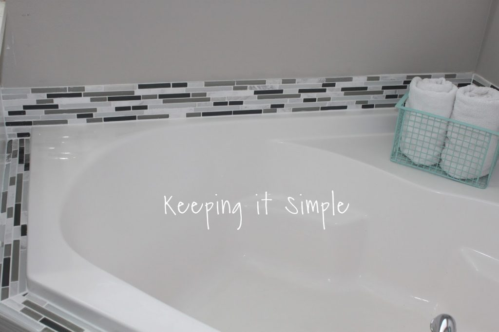 Tips on How to Tile a Corner Bathtub using Wavecrest and Venatino ...