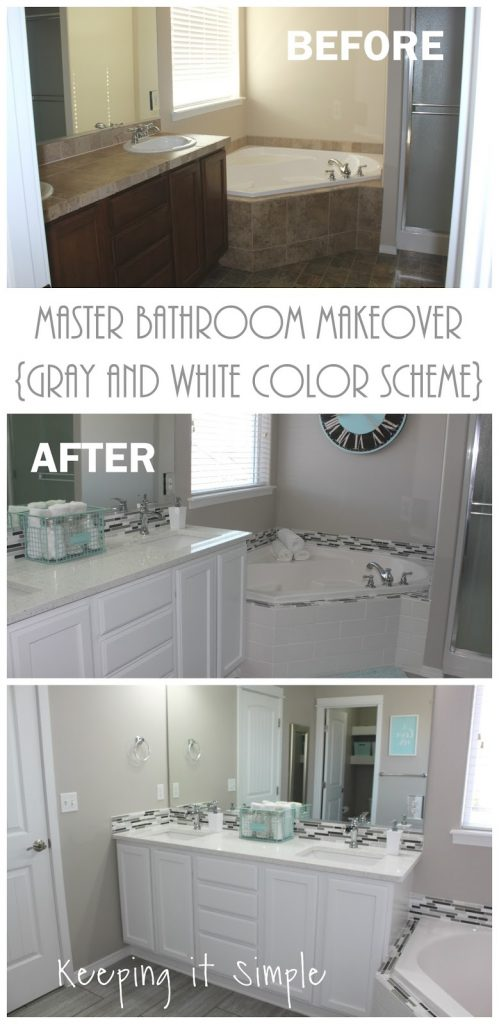 Sure To Click On The Links Because They Will Take You Tutorials How We Did Everything And Now It S Time Show My Master Bathroom