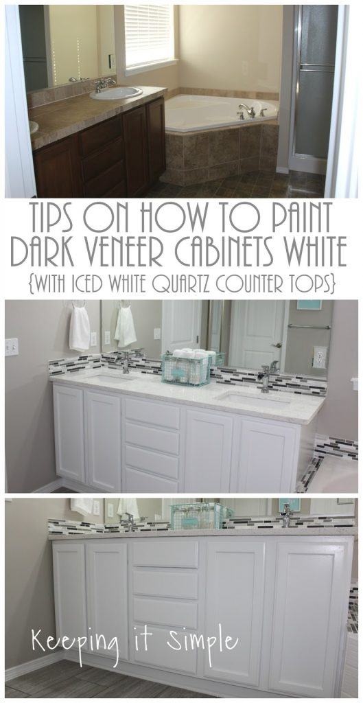 I HATED These Counter Tops. The Tile Was Awful And The Grout Lines Were  Horrible To Get Stuff Out Of (especially Tooth Paste).