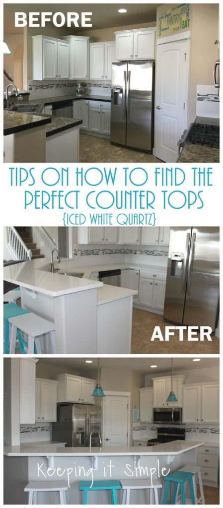 Tips On How To Replace Countertops In Your Kitchen Iced White