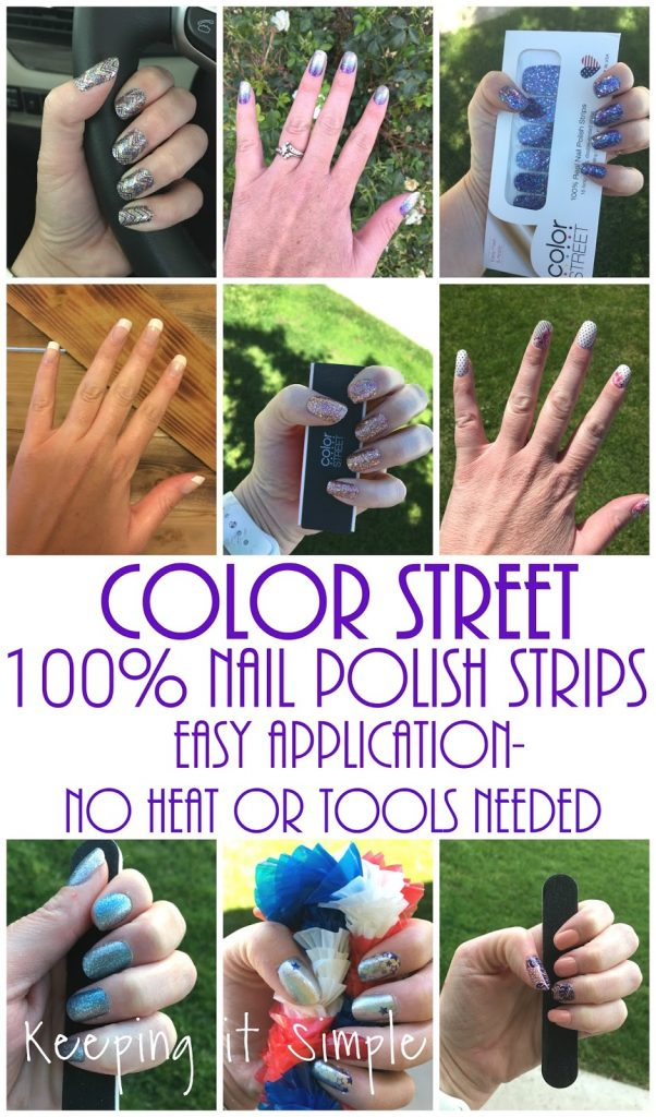 Introducing color street 100 nail polish strips easy application here is an example of what i am talking about with nail polish i had a sample of the color street the ones that are a design and i only did two solutioingenieria Choice Image