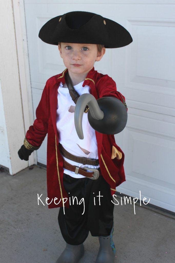 Harry Hook from Descendants 2 Kids Costume • Keeping it Simple