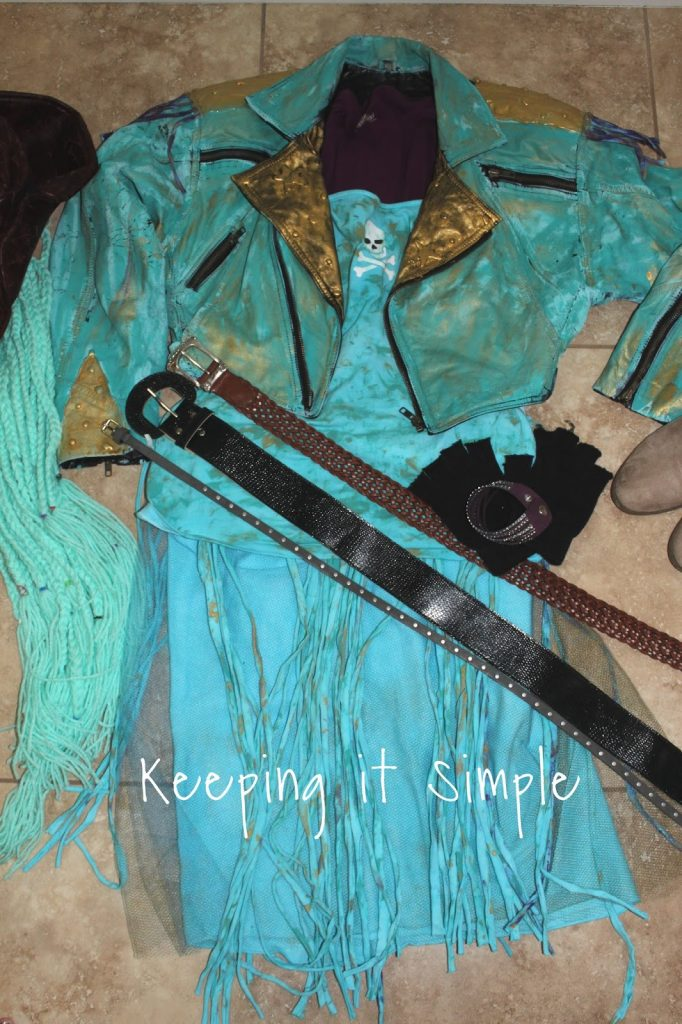 DIY Uma from Descendants 2 Costume • Keeping it Simple